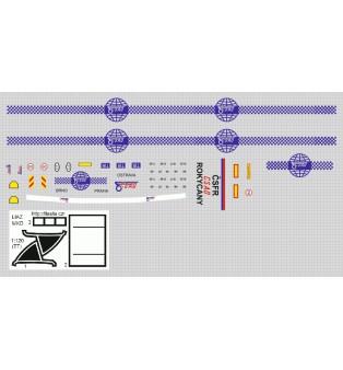 LIAZ - set MKD - TIR - návesová súprava