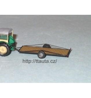 """Nízkopodlažný traktorový príves - """"plaťák"""" - N!"""