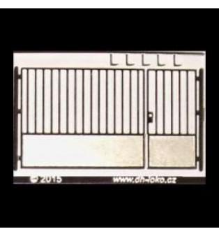 Veľká brána - šírka 24mm (H0)