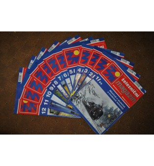 Železničný magazín - ročník 1999 (kompletný)