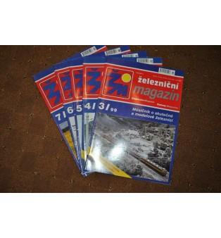 Železničný magazín - ročník 1999 (nekompletný)