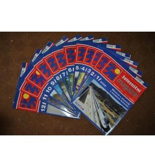 Železničný magazín - ročník 2000 (kompletný)