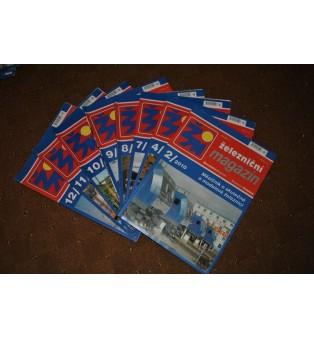 Železničný magazín - ročník 2010 (nekompletný)