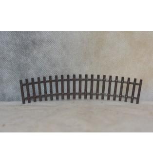 Pražce - oblúková koľaj R-380 (tmavá hnedá)