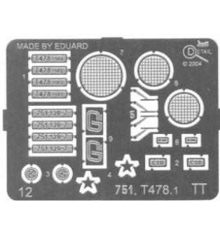 Doplnky k T478.1, 751 139-7 (TT)