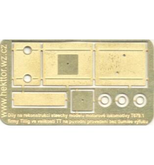 """Detaily k T 679.1 - strecha v prevedení bez tlmiča výfuku - """"TT"""""""