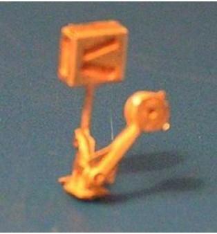 """Prestavníkové teleso - jednoduchá výhybka (2ks)  - """"H0"""""""