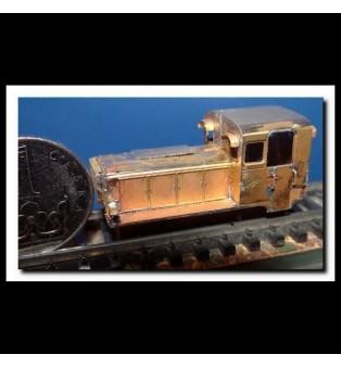 Stavebnica lokomotívy BN60 (706.6) ČSD (TT)