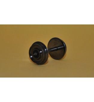 Kovové dvojkolia - 10,4/24,4mm (4ks v balení) (H0)