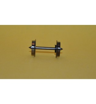 Kovové dvojkolia - 10,4/24,4mm (kusový predaj) (H0)