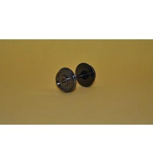 Kovové dvojkolia - 11,4/24,4mm (kusový predaj) (H0)