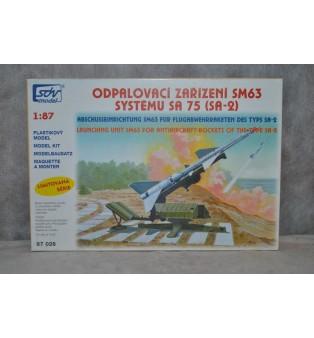 Odpaľovacie zariadenie SM63 systému SA75