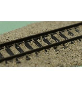 ŠTRK jemný - farba šedá - 0-0.4mm (100g)
