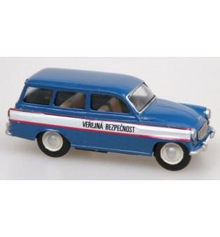 Popis na autá VEREJNÁ BEZPEČNOSŤ 1957-75 (H0)