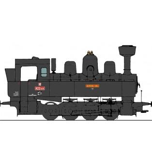 "Popis na parnú lokomotívu 422.025 ""Arcivévoda Karel"" (TT)"