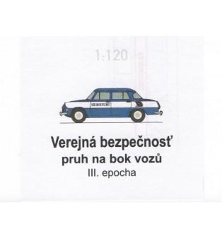 Popis na auto VEREJNÁ BEZPEČNOSŤ 1957-75 (TT)