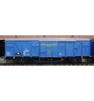 Popis Československá pošta 2,napravový vagón Gbkkqs (H0)
