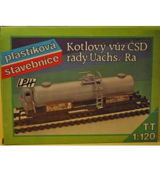 """Cisternový vagón """"ČSD"""" rady Uachs/Ra (TT)"""